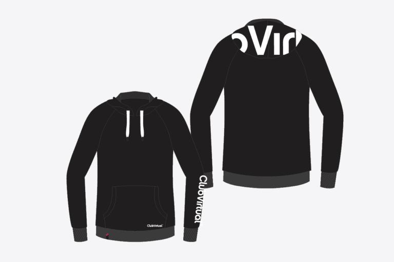 Club Virtual_ontwerpvoorstel hoodie